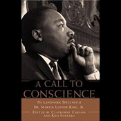 A Call to Conscience: The Landmark Speeches of Dr Martin Luther King Jr book cover